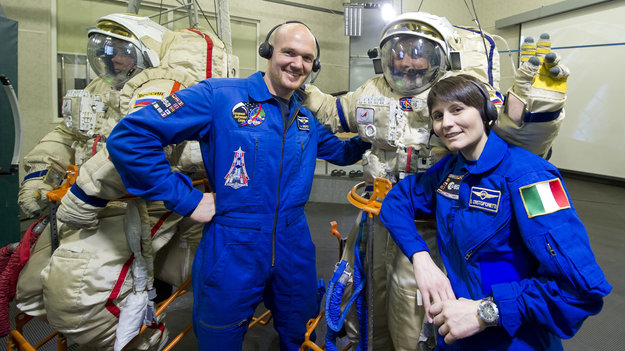 first esa astronaut in space - photo #17