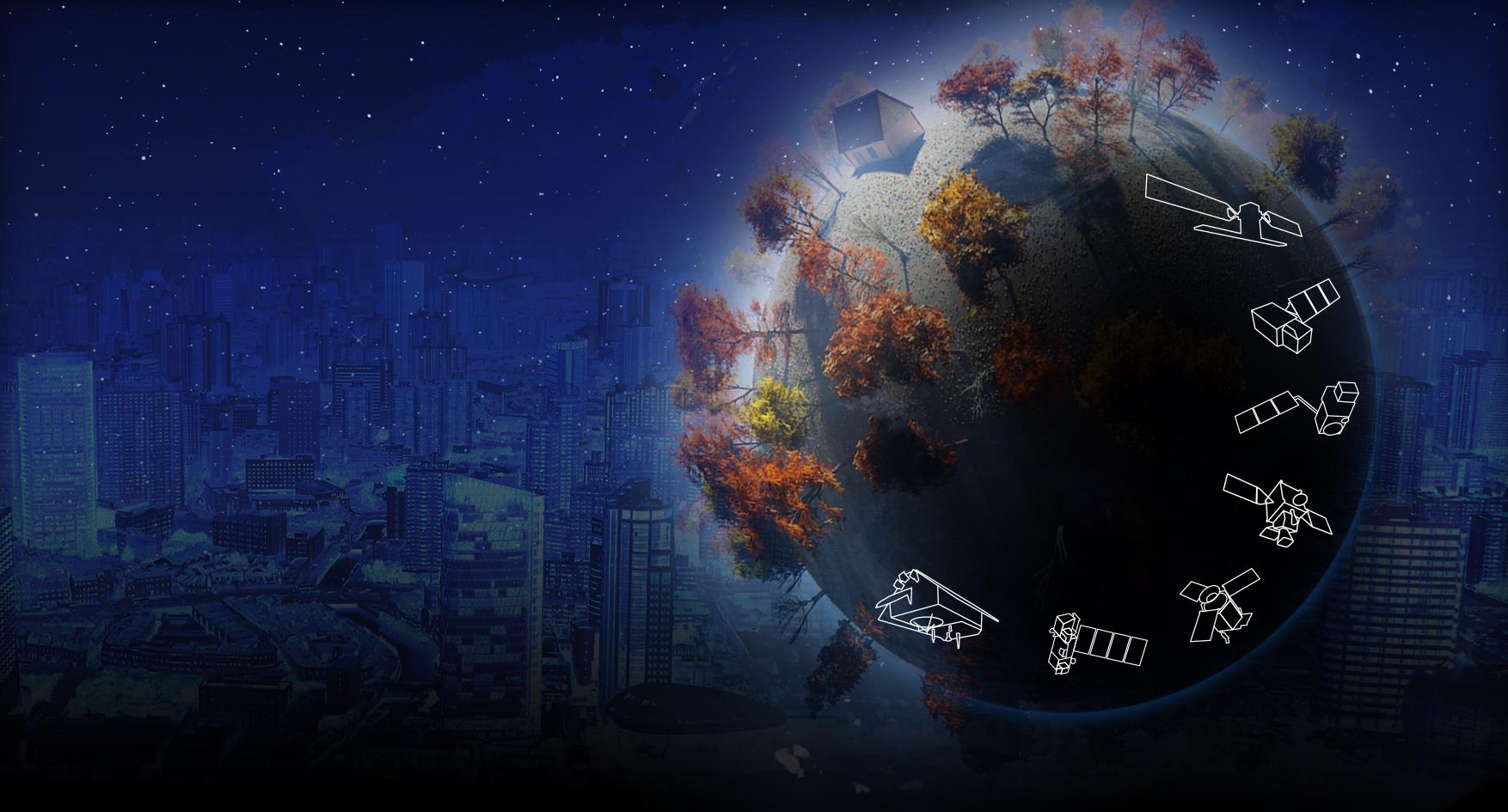 A Sentinel műholdcsalád. (Kép: ESA)