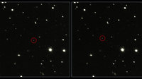 ESA's Gaia satellite as seen with the Very Large Telescope Survey Telescope