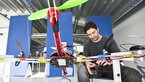 [3/7] Working on quadcopter at ESA BIC