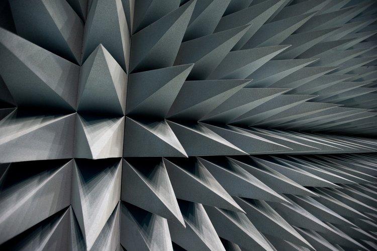 Anechoic foam covering