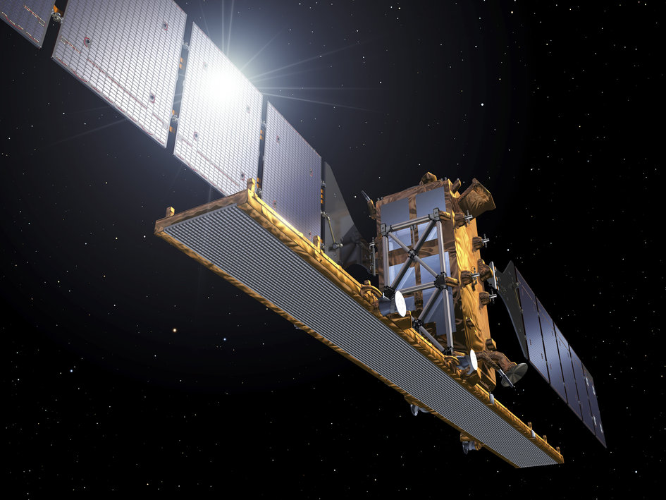 Artist's impression of Sentinel-1A