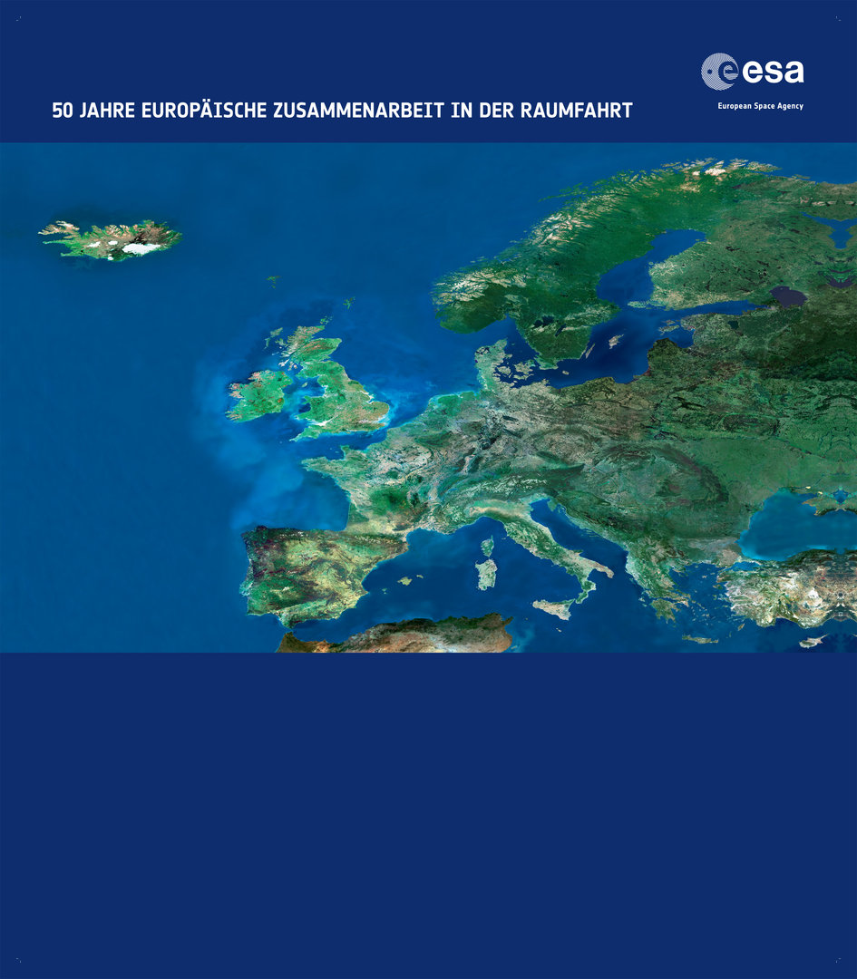 German backdrop for 50 years of European cooperation in Space