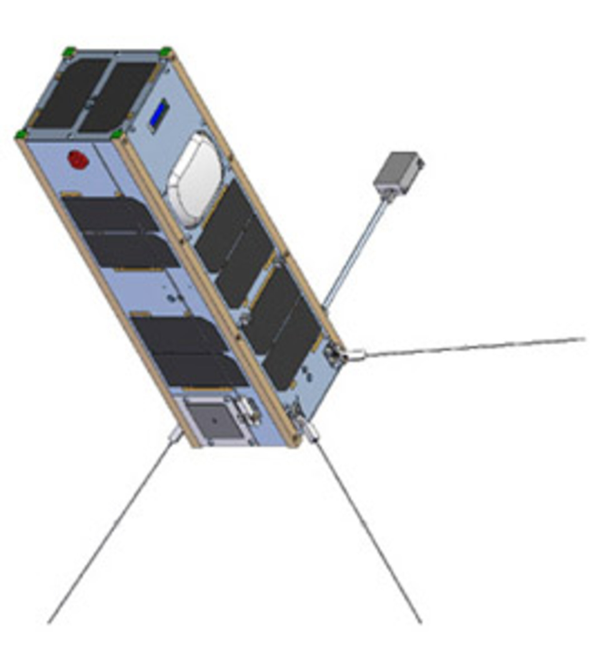 Three-unit CubeSat