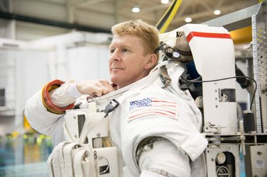 Tim Peake spacewalk training
