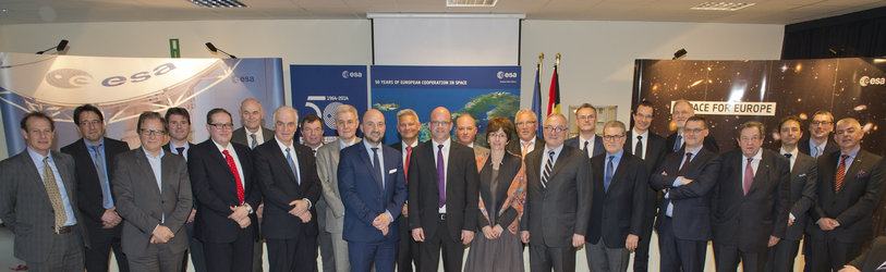 ESA-Redu contract signing ceremony 8 April 2014 #2