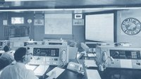 The Main Control Room at ESOC in the 1960s. We've come a long way, baby!