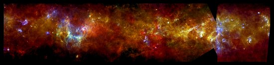 Glowing jewels in the Galactic Plane