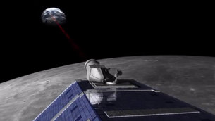 NASA's LADEE mission sends laser data to ESA's Optical Ground Station, testing future deep-space communication technologies