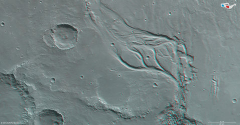 Osuga Valles in 3D