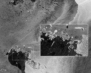 Pine Island and Thwaites Glaciers