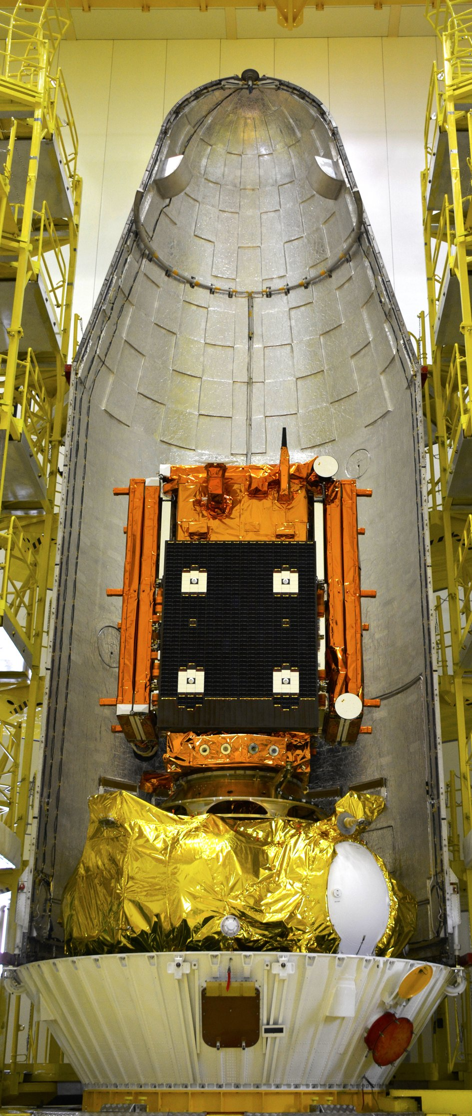 Sentinel-1A encapsulation
