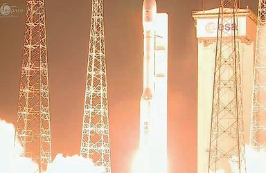 Vega liftoff on flight VV03