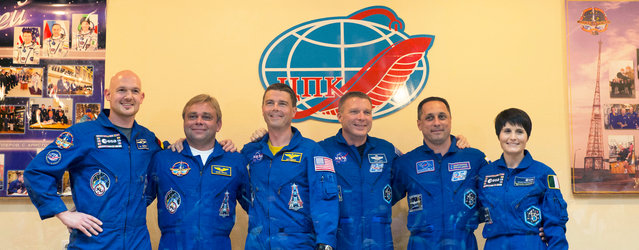 Expedition 40/41 and 42/43 astronauts