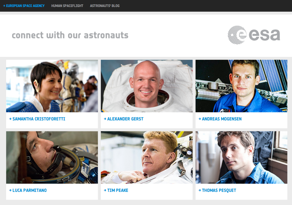 Connect with our Astronauts