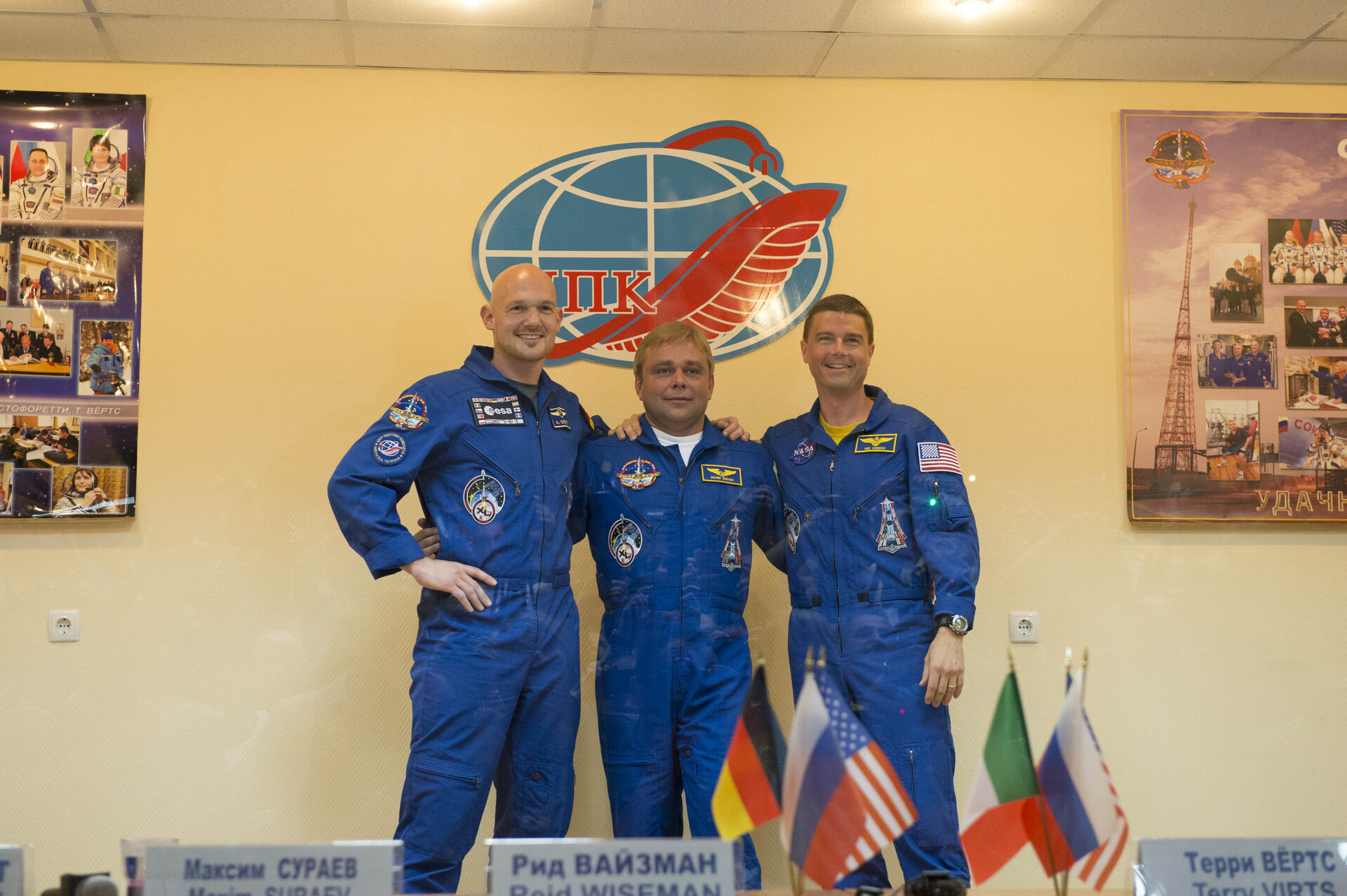 Expedition 40/41 after the crew's press conference