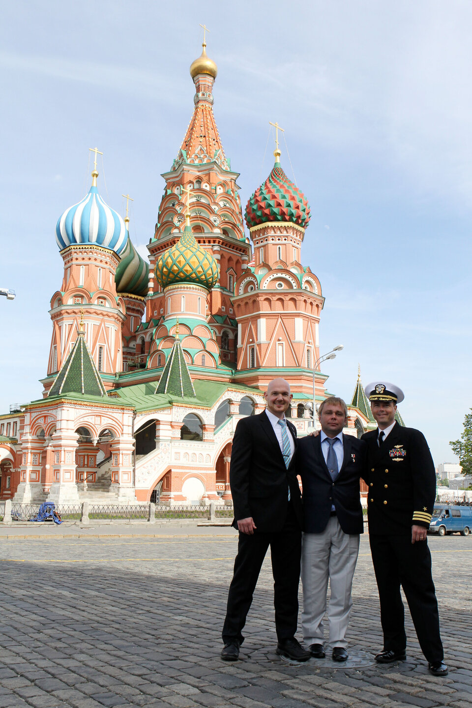 Expedition 40/41 visit to Red Square