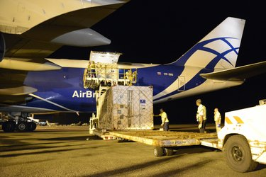 Galileo satellites unloaded