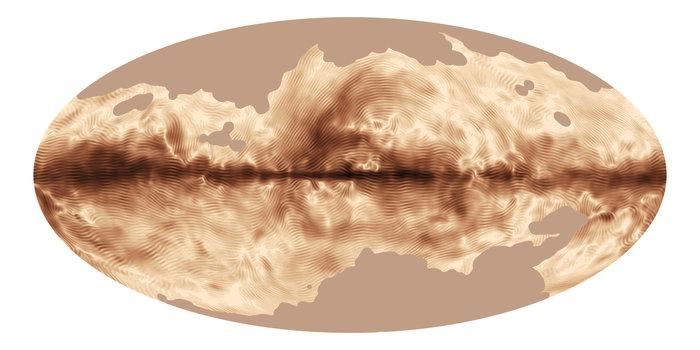 Mælkevejen magnetfeltstrukturer