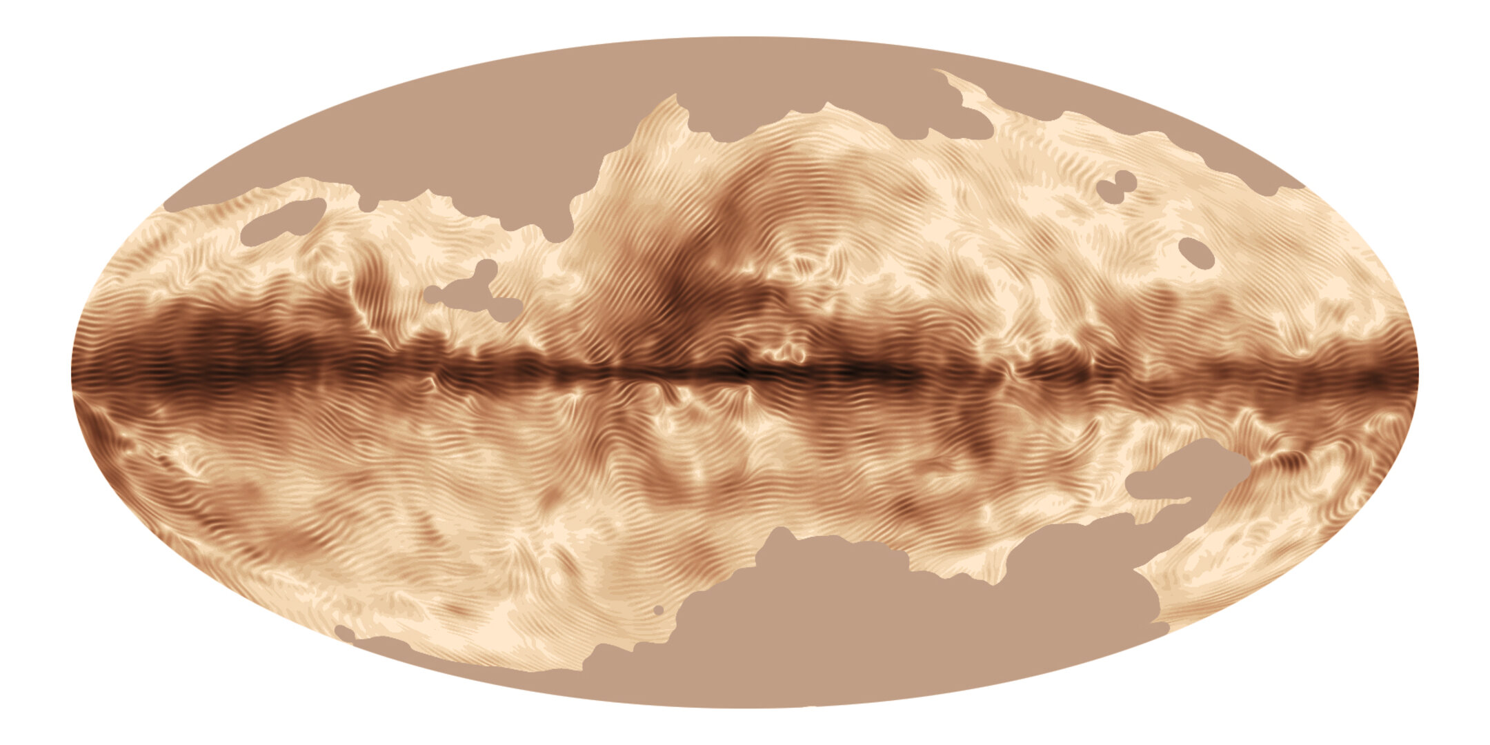 Milky Way's magnetic fingerprint