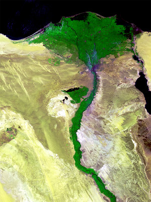 Nile Delta acquired by Proba-V