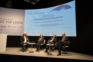 Panel discussion on 'Space for Earth, Space for Growth & Competiveness