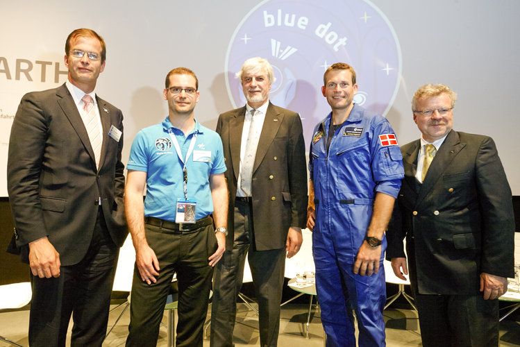 Presentation of Alexander Gerst 'Blue Dot' mission
