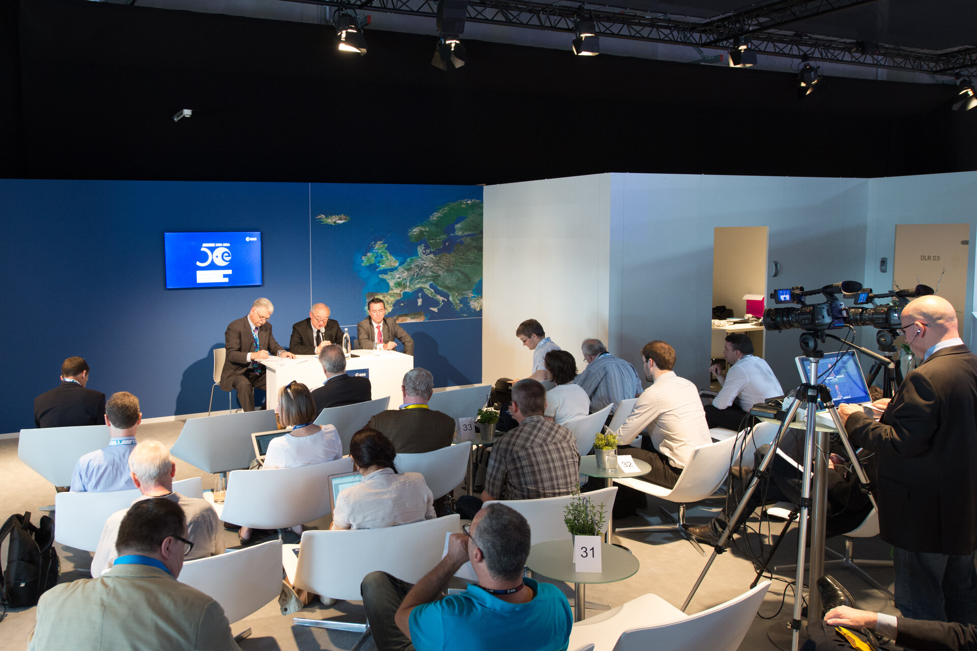 Press conference with Jean-Jacques Dordain