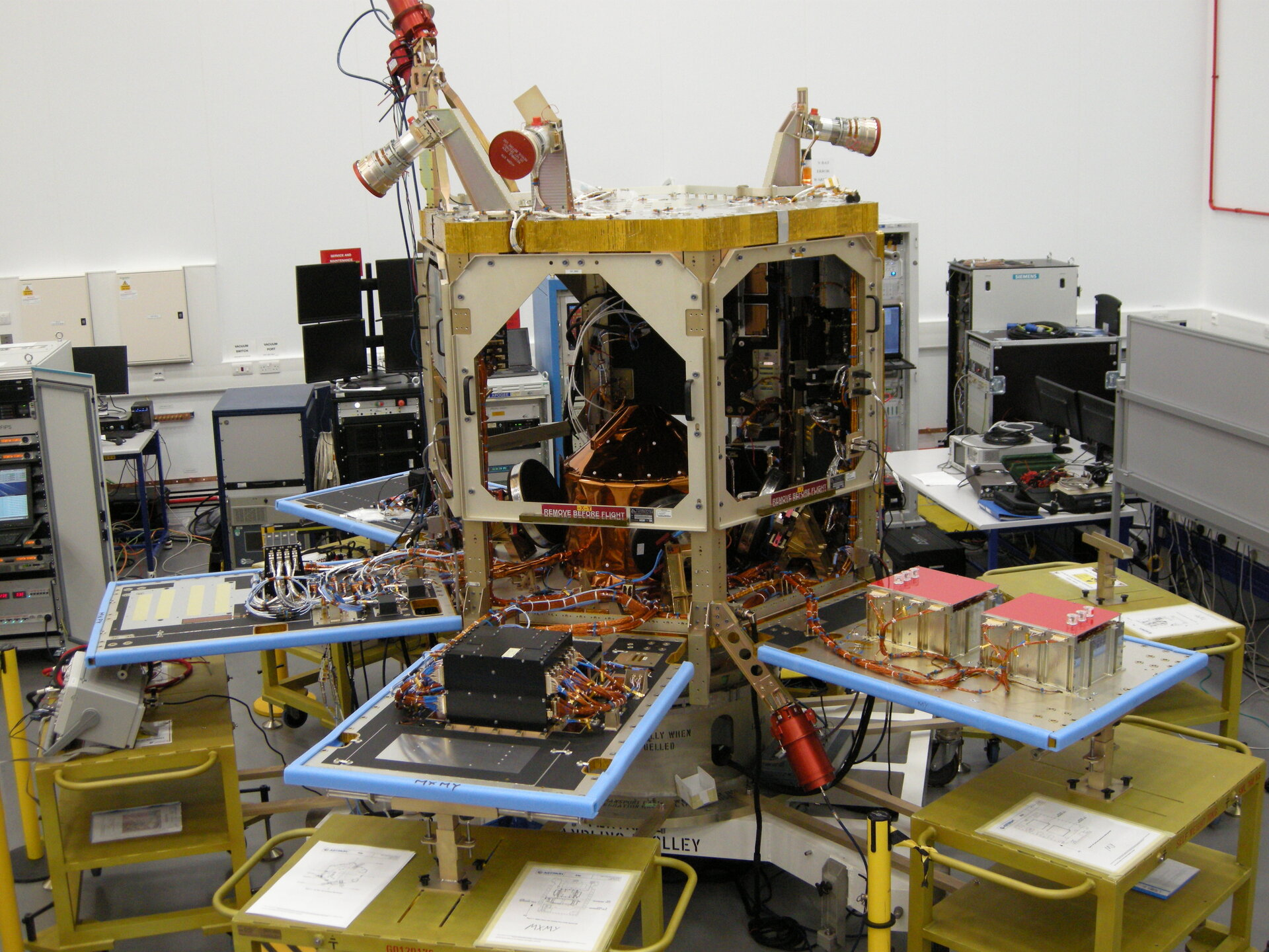 Sentinel-5P in the cleanroom