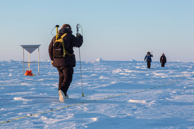 Trekking out for CryoSat