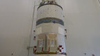 [76/87] ATV-5 prepared for integration on the Ariane 5 launcher