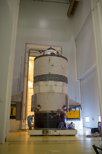 ATV-5 roll-out from the CCU3