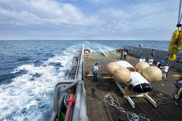 IXV awaits inspection on Nos Aries deck
