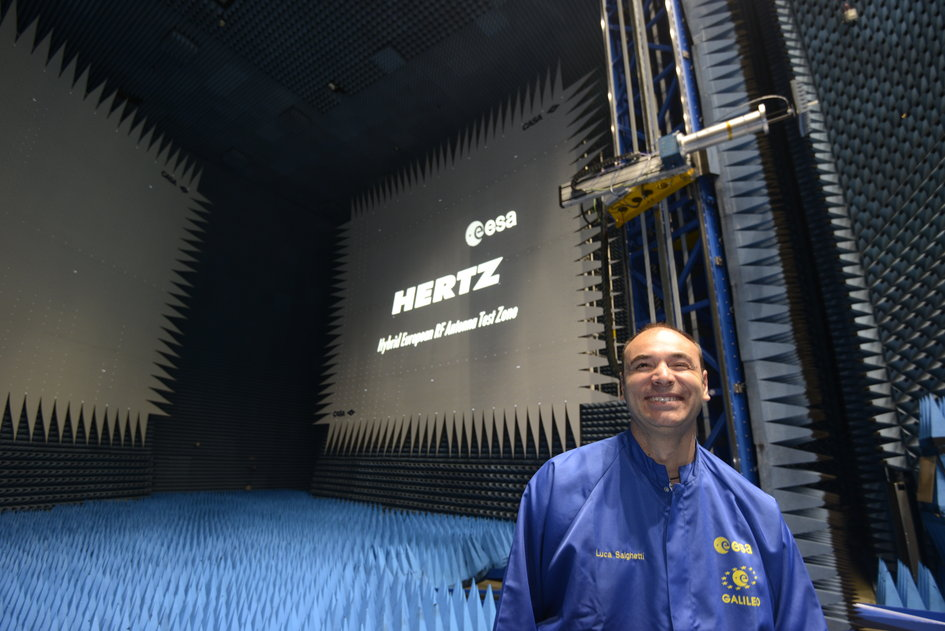 Renaming ESA's antenna test chamber