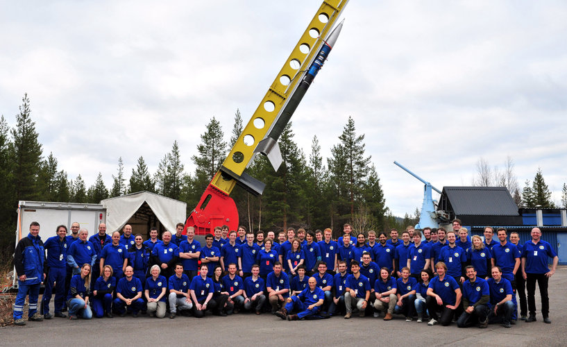 Students participating in the REXUS 15 and 16 launch campaign in May 2014
