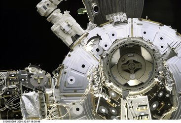 Space Shuttle docking port