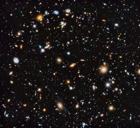 Ultraviolet coverage of the Hubble Ultra Deep Field