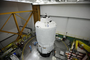 ATV-5: loaded and locked / ATV / Human and Robotic Exploration / Our