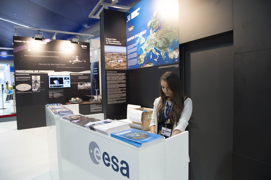 ESA at the Farnborough air and space show 2014