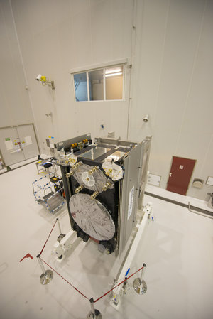 Galileo SAT 5 in the S5A building