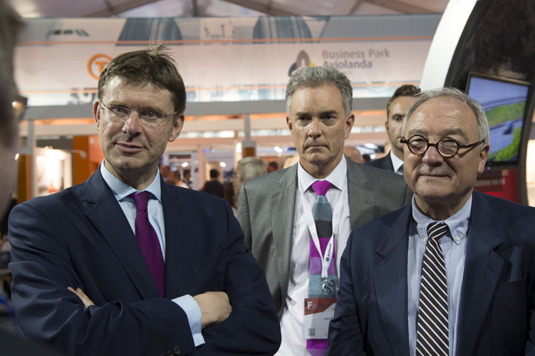 Jean-Jacques Dordain and Rt Hon Greg Clark