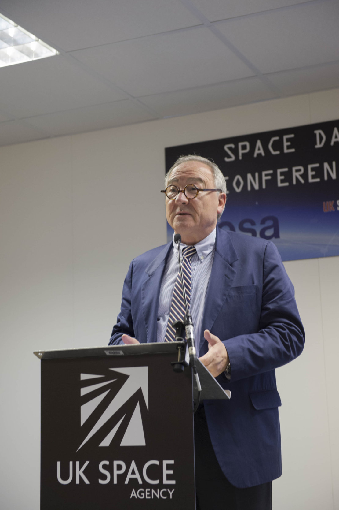 Jean-Jacques Dordain during the Space Day Conference