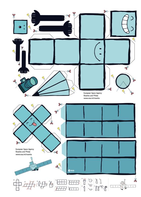 space in images 2014 07 modell zum ausdrucken. Black Bedroom Furniture Sets. Home Design Ideas