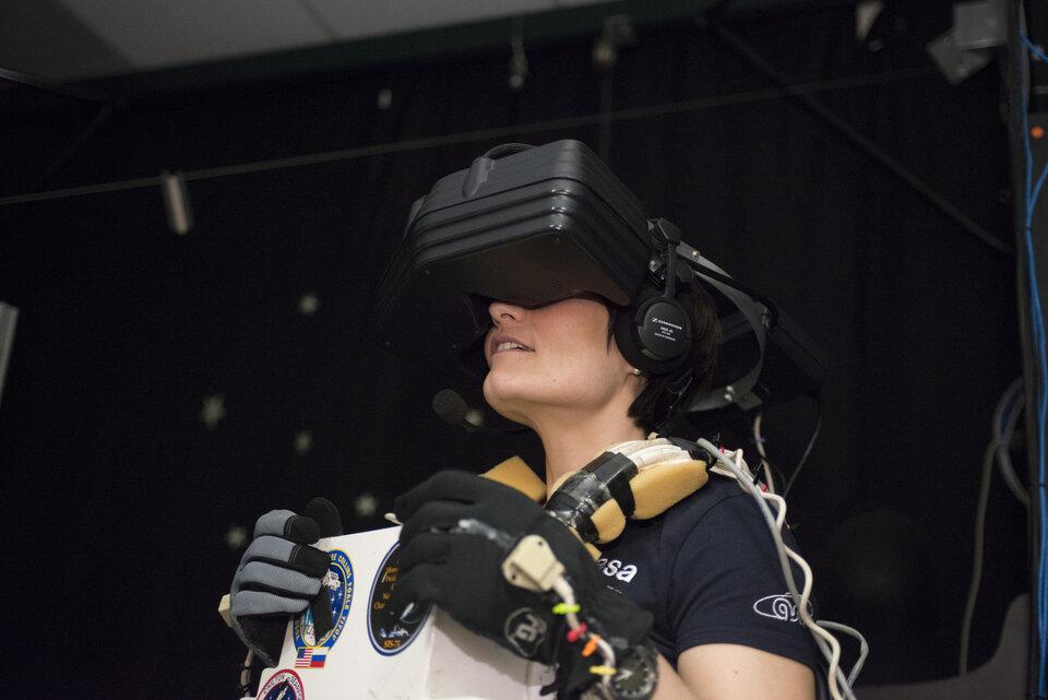 Entrenamiento de realidad virtual