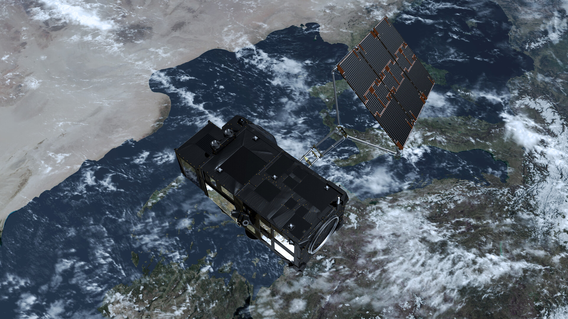 Sentinel-3 in orbit