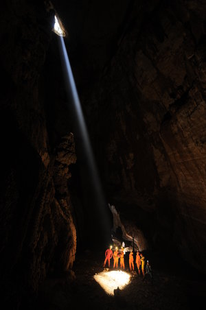 Shining light on CAVES