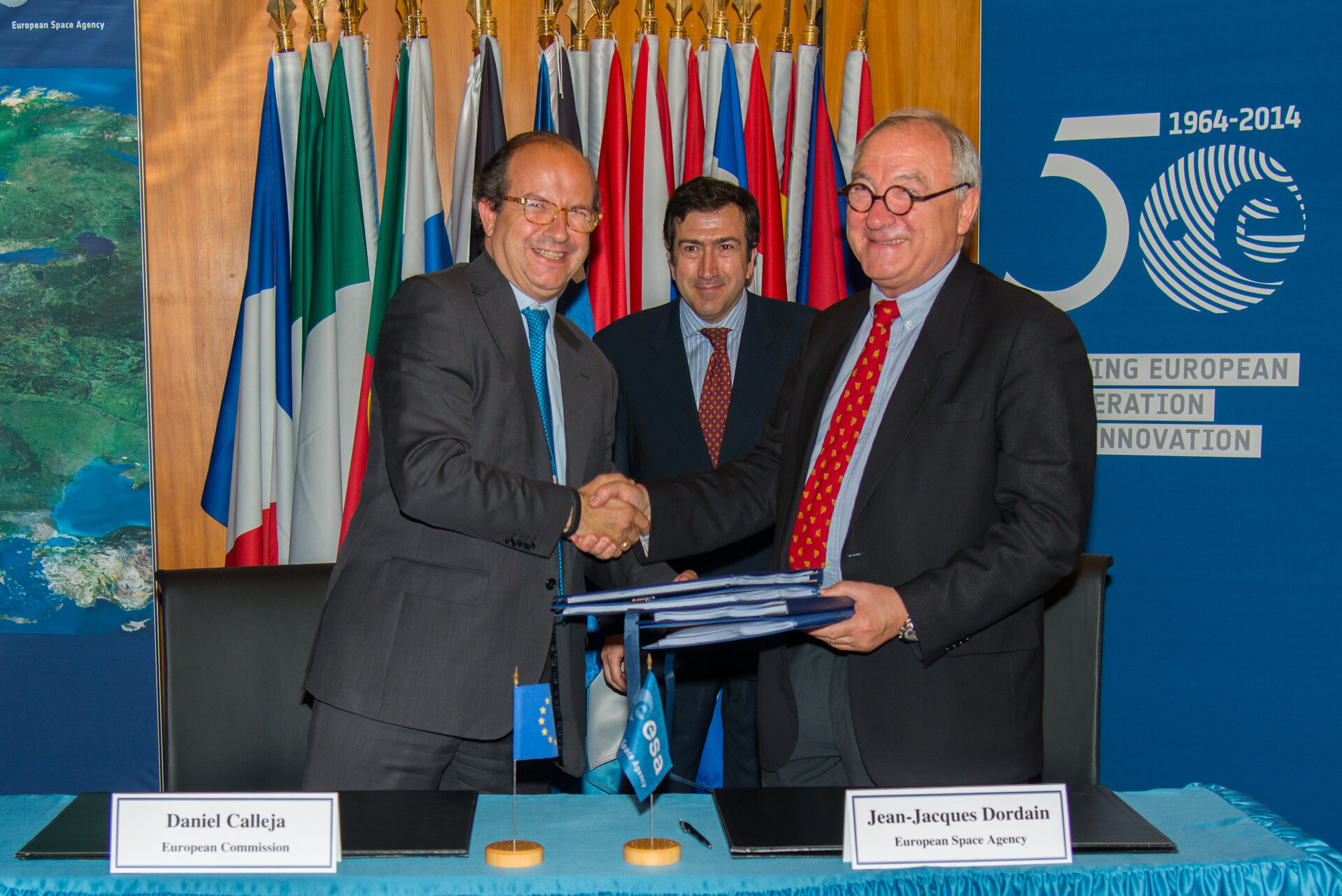 Signature ESA/EU delegation agreements