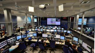 The joint ESA/CNES mission control team seen at ATV-CC, Toulouse, on 12 August 2014 during ATV-5 docking