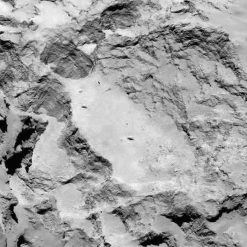 Candidate landing site A