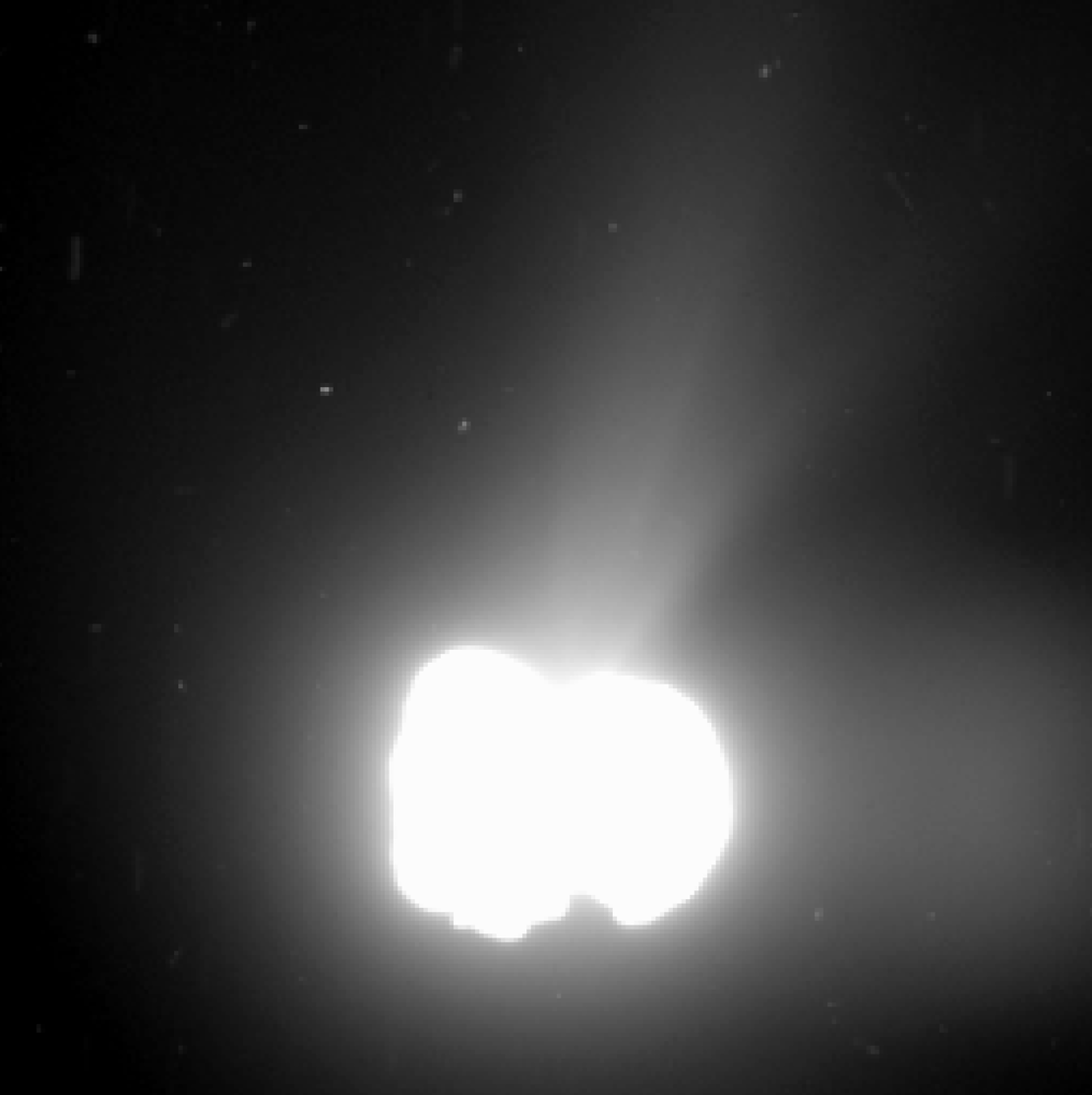 Comet activity on 2 August 2014